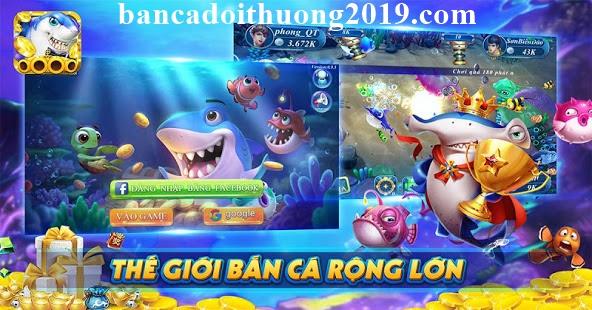 Tải game bắn cá rồng chiến 3D apk