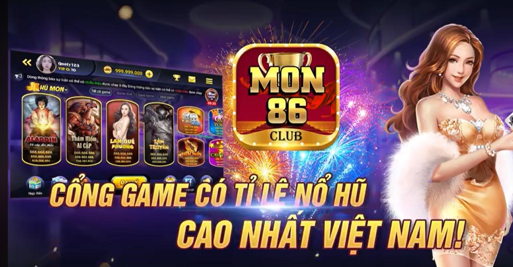 Tải game Mon 86 Club ios/apk - Mon86.net đánh bài săn thưởng tuyệt vời
