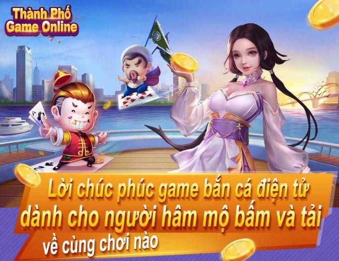 thành phố game online