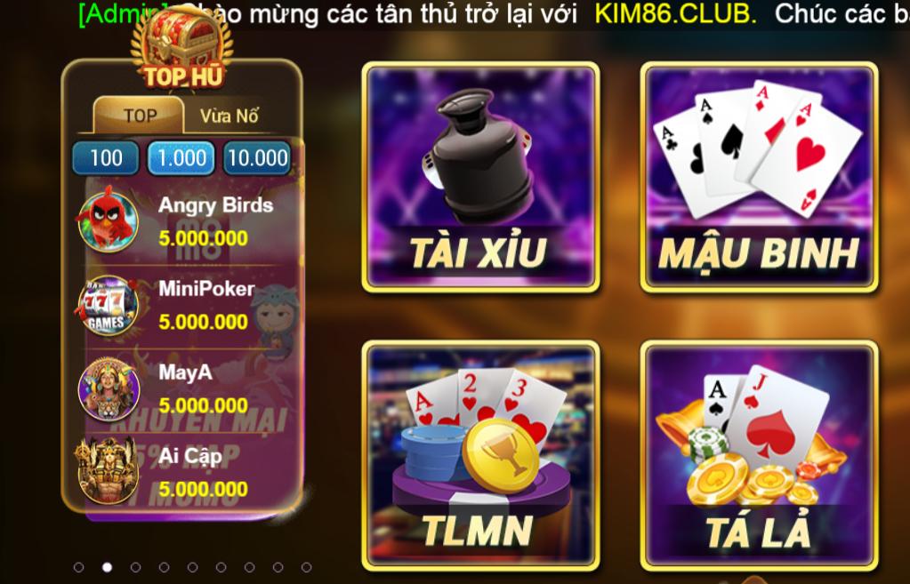 Tải Kim86 club