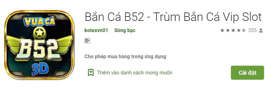 Bắn Cá B52
