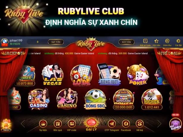 Rubylive club định nghĩa sự xanh chín