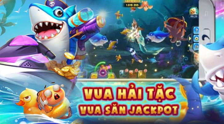 Vua Hải Tặc Bắn Cá Quay Slot Giật Poker