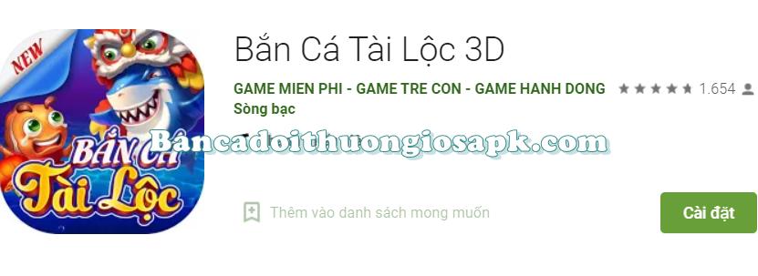 Tải game Bắn Cá Tài Lộc 3D