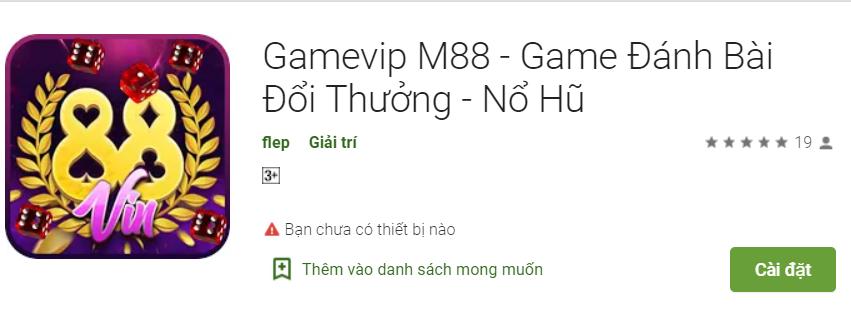 Gamevip m88
