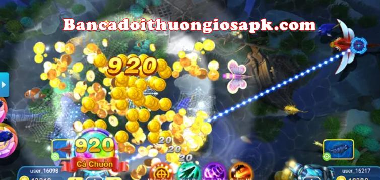 Quán Quân Bắn Cá là trò chơi đỉnh cao 2021